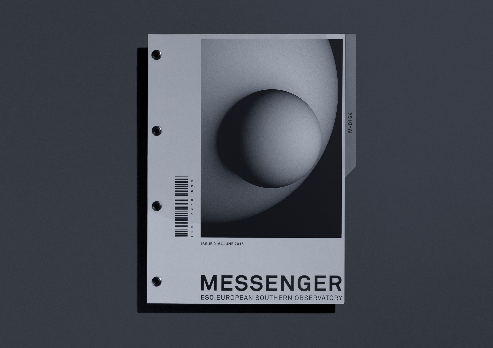 Malwin Béla Hürkey — Visual Communication European Southern Observatory — Identity