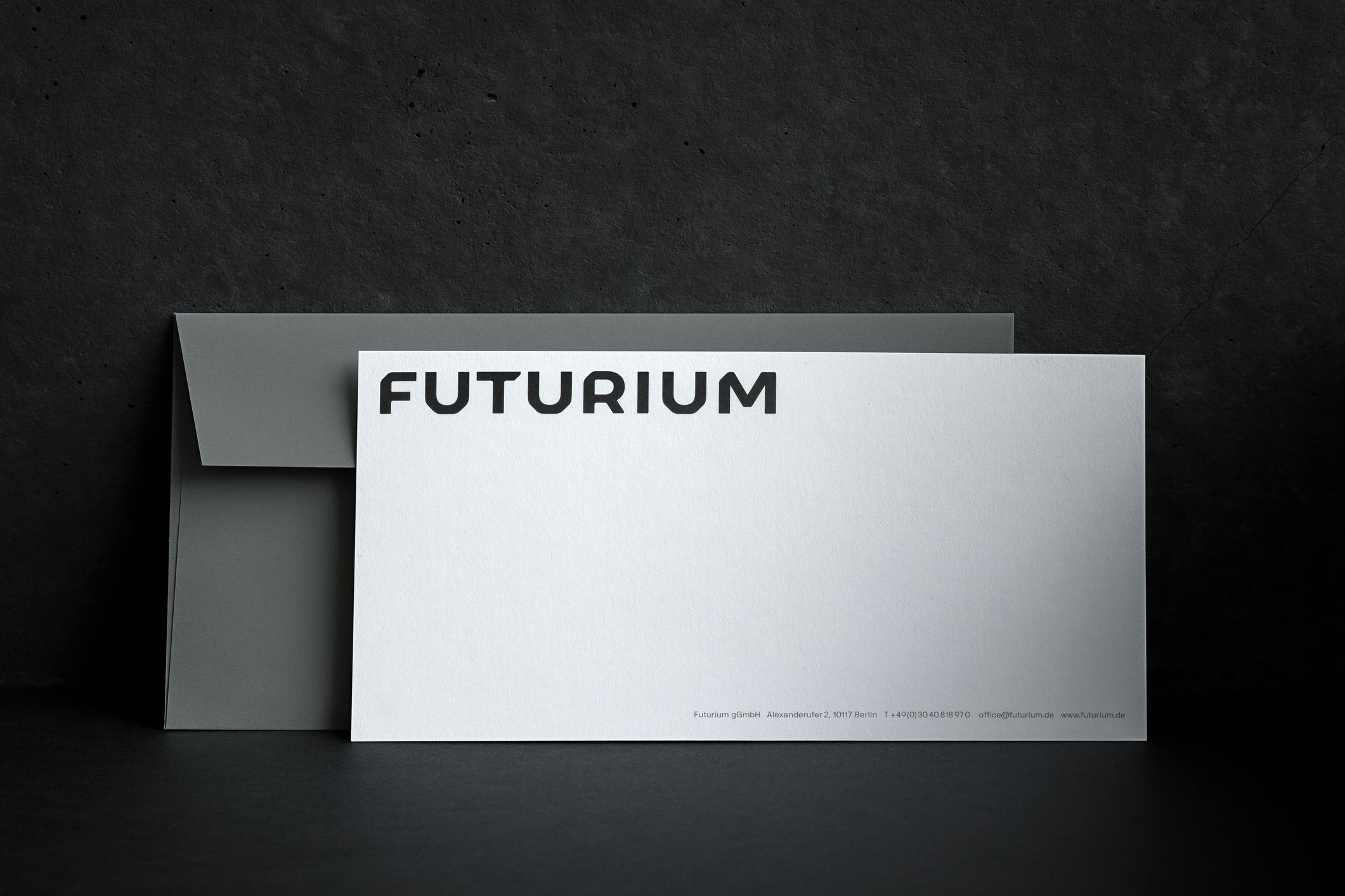 Malwin Béla Hürkey — Visual Communication Futurium — Identity