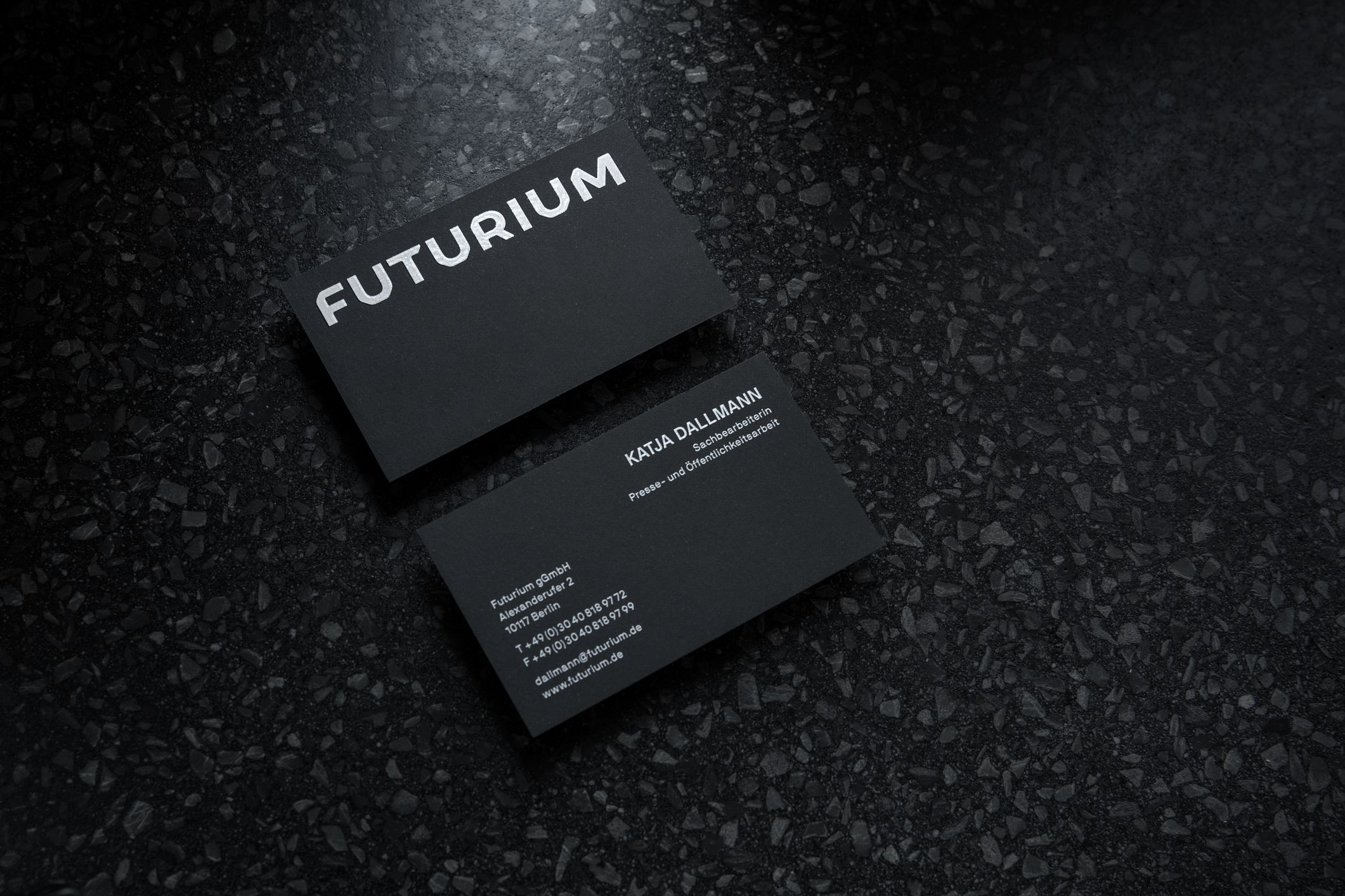 Malwin Béla Hürkey — Visual Communication Protected: Futurium — Identity