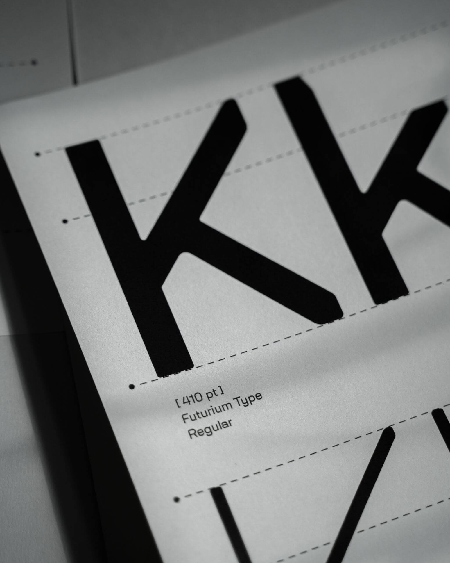 Malwin Béla Hürkey — Visual Communication Futurium — Type Design
